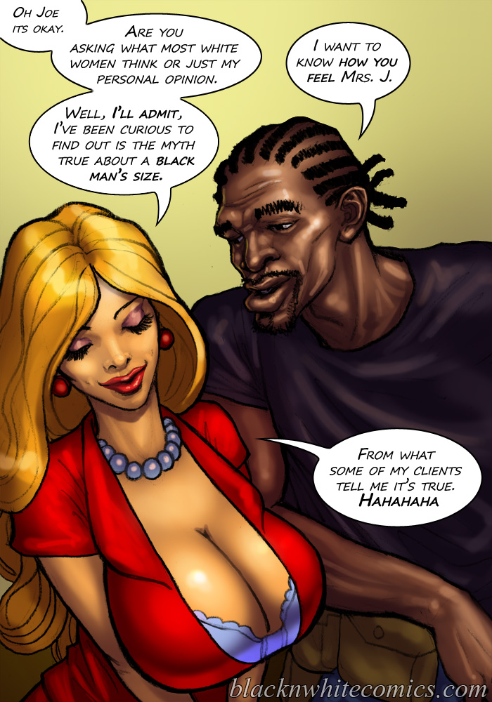 from Julio black girl white men toon porn