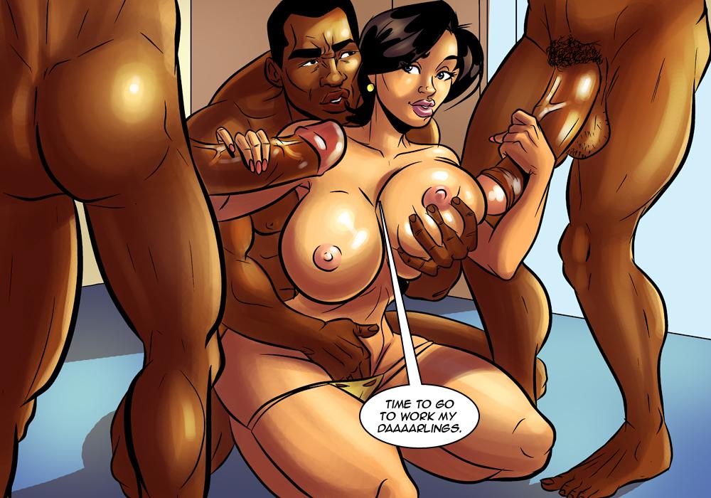 Ebony sex cartoon