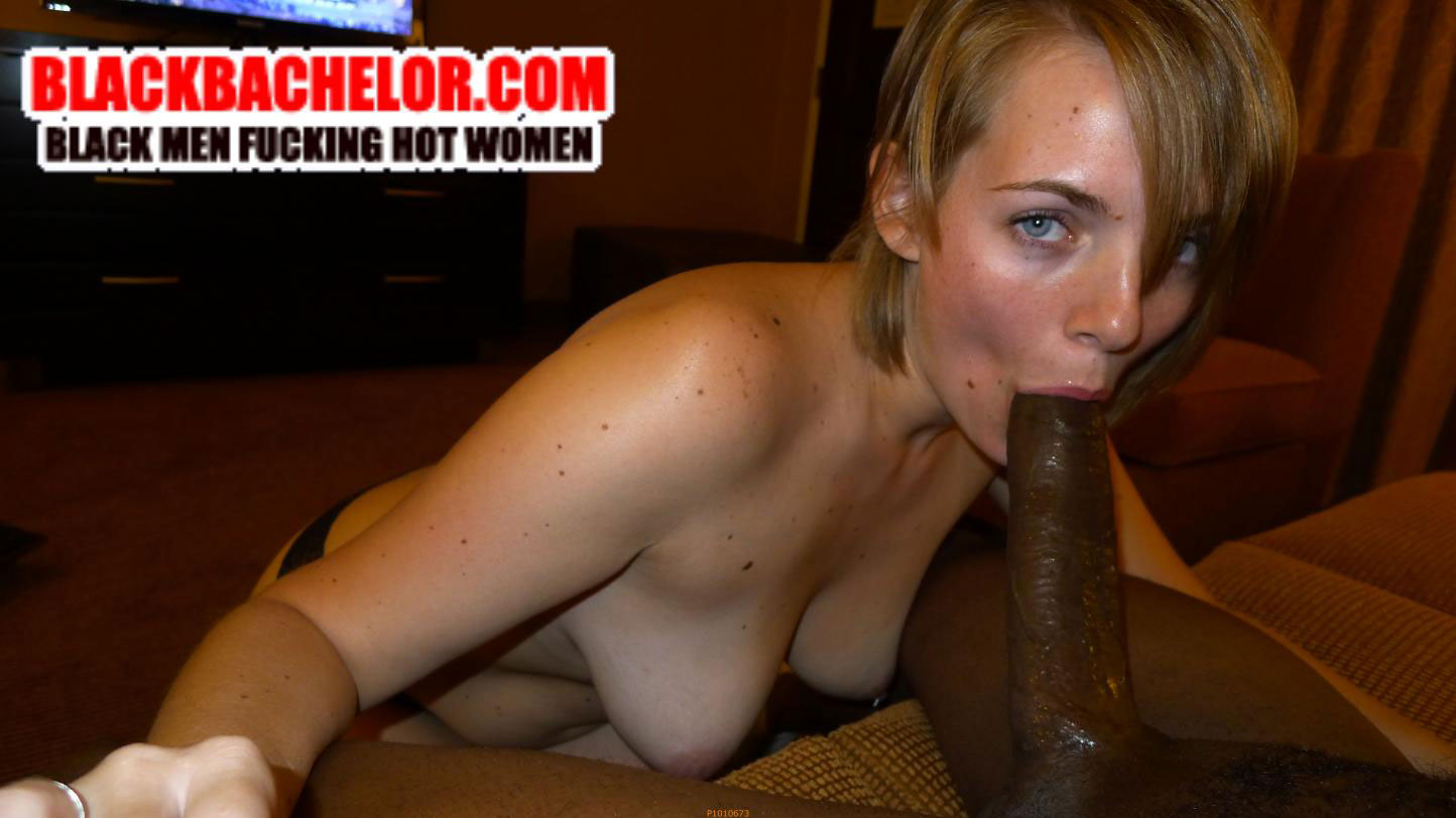 White wife worships black balls 3 2