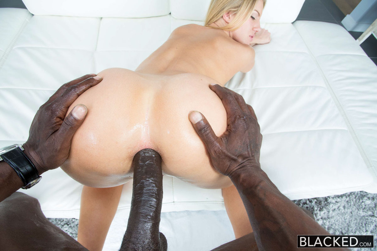 Something is. Black interracial anal