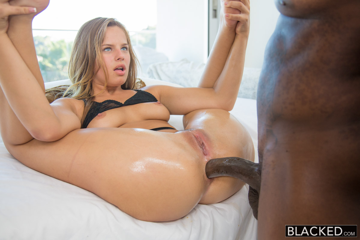 Alluring Fat interracial anal