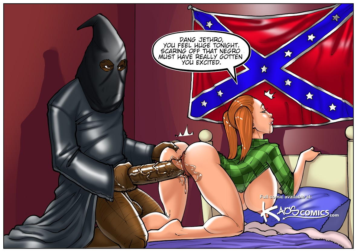 Interracial cartoon porn comics share