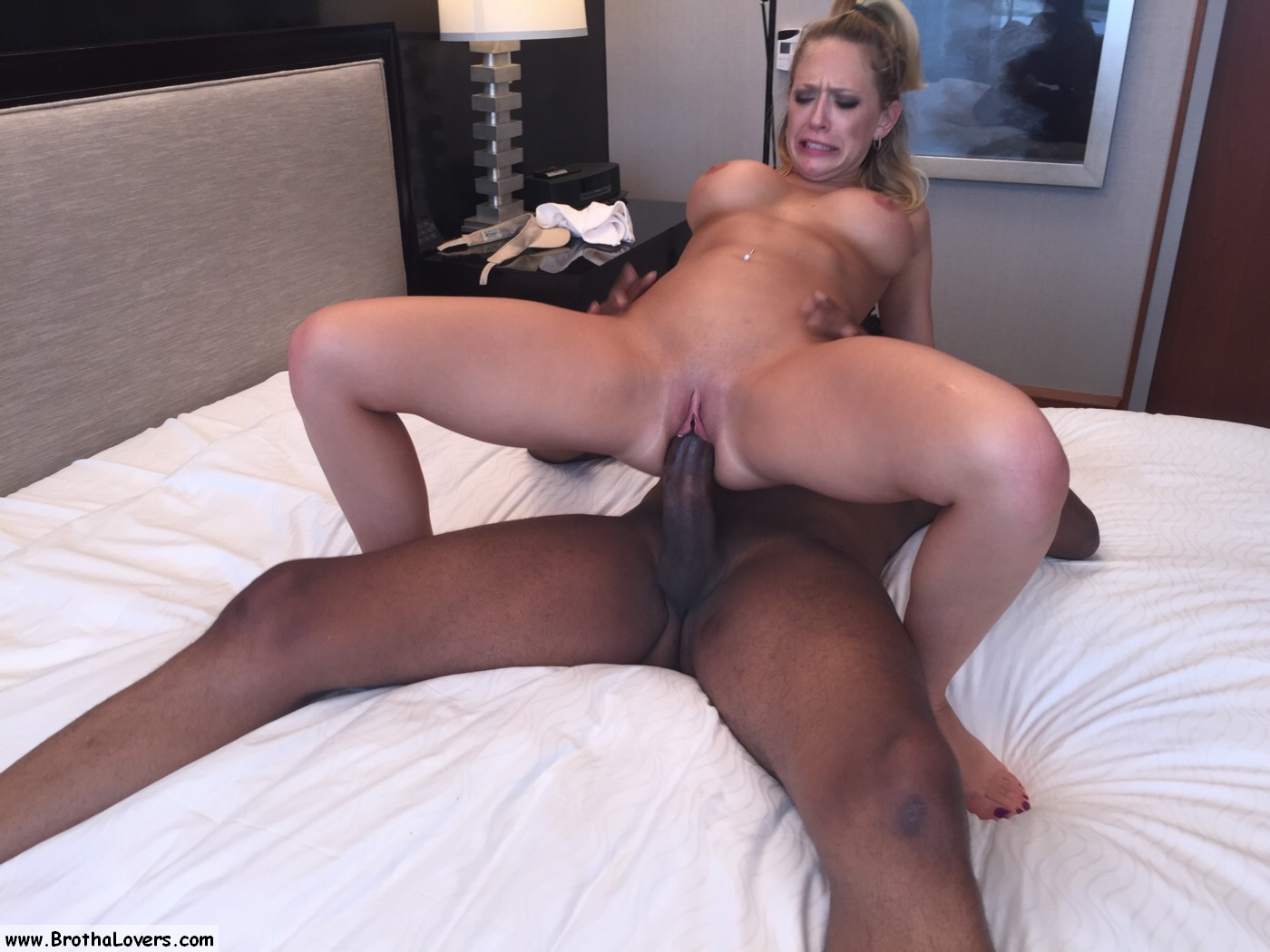 Cuckold milf meets bbc bull first time sissy husband watches - 1 part 7