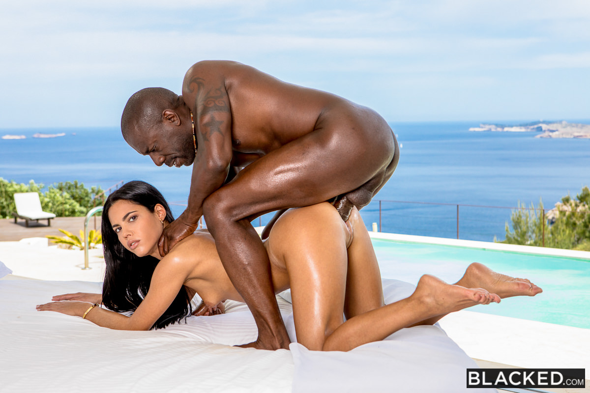 image Wcp club big black cock in her ass gives a creampie